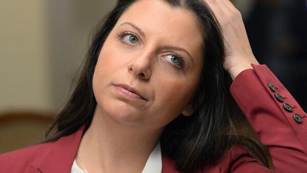 Redaktor naczelna Międzynarodowej agencji informacyjnej Rossija Segodnia Margarita Simonian - Sputnik Polska
