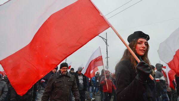 Marsz Niepodległości w Warszawie - Sputnik Polska