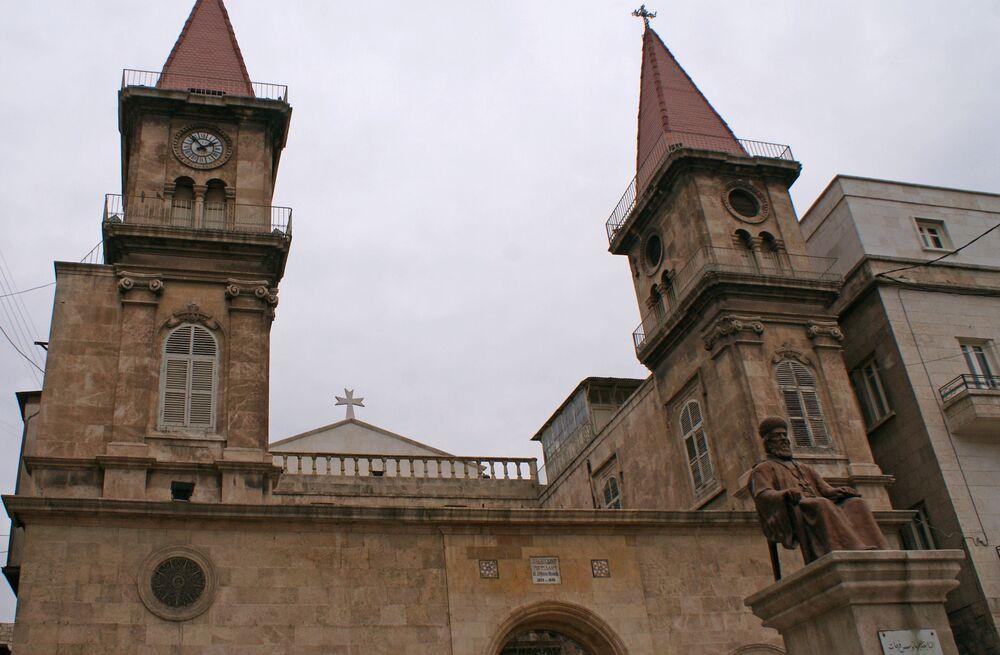 Cerkiew w Starym Mieście w Aleppo w 2009 roku