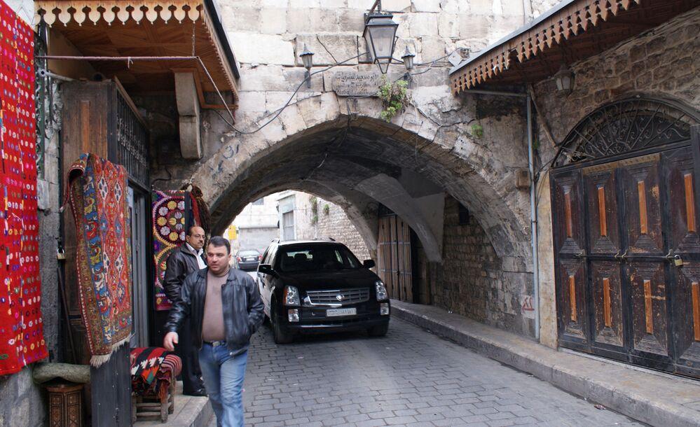 Stara część Aleppo w 2009 roku