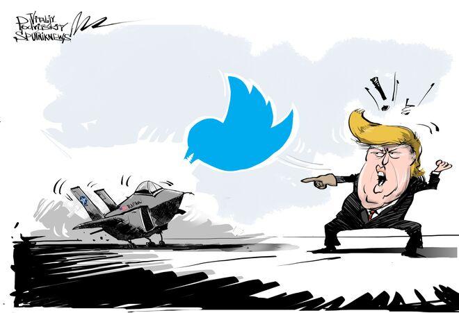 Jednym twittem...