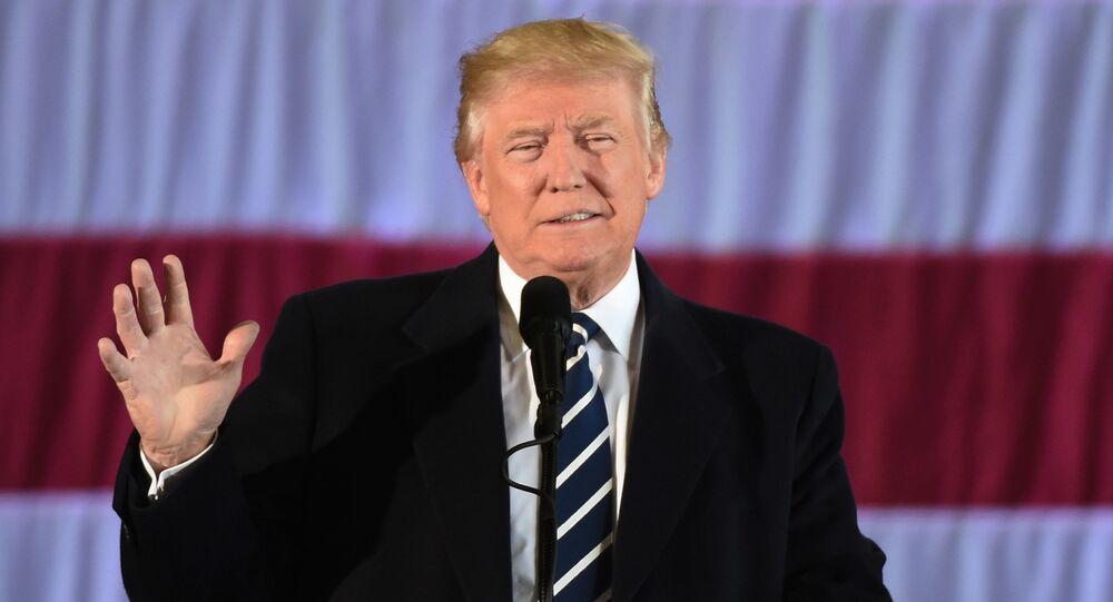 Prezydent elekt USA Donald Trump