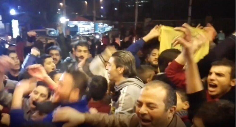 Mieszkańcy wyzwolonego Aleppo