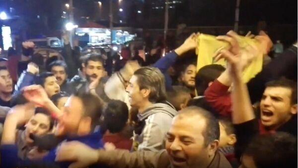 Mieszkańcy wyzwolonego Aleppo - Sputnik Polska