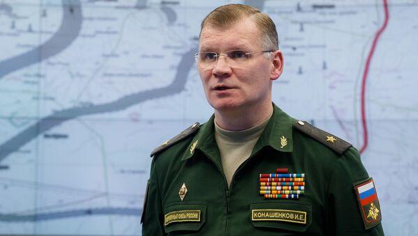Rzecznik Ministerstwa Obrony generał-major Igor Konaszenkow - Sputnik Polska