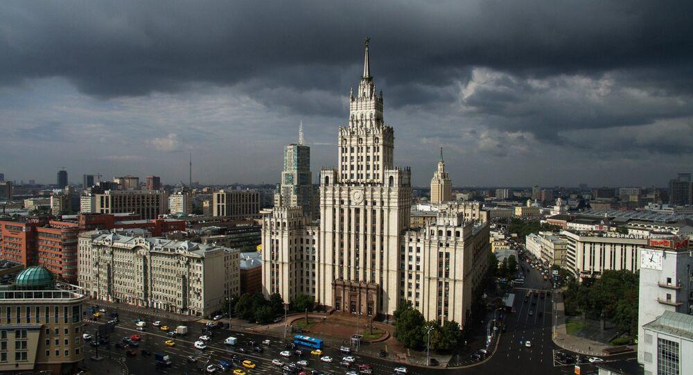 Moskwa z lotu ptaka