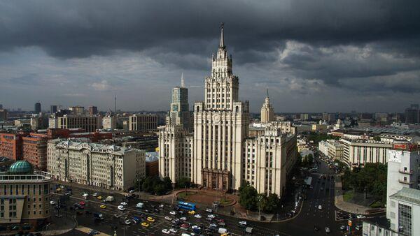 Moskwa z lotu ptaka - Sputnik Polska