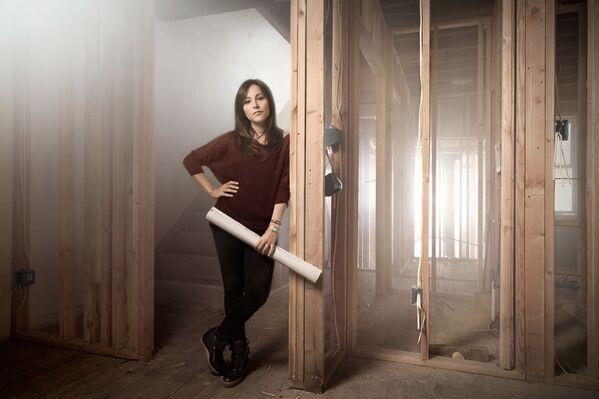 Kobieta pracująca jako developer budowlany w Philadelphii - Sputnik Polska
