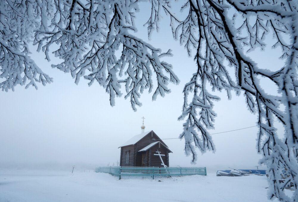 Cerkiew we wsi Krasnoje w Nienieckim Okręgu Autonomicznym