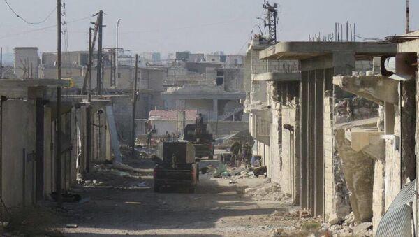 Wyzwolone kwartały wschodniego Aleppo - Sputnik Polska