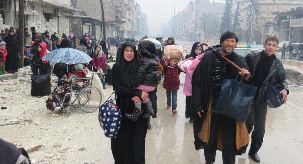 Mieszkańcy Aleppo.