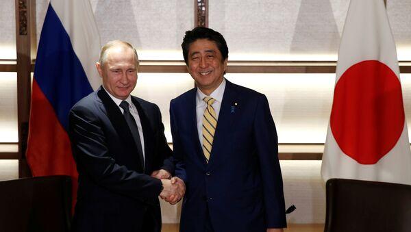 Wizyta Władimira Putina w Japonii, 15 grudnia 2016 - Sputnik Polska