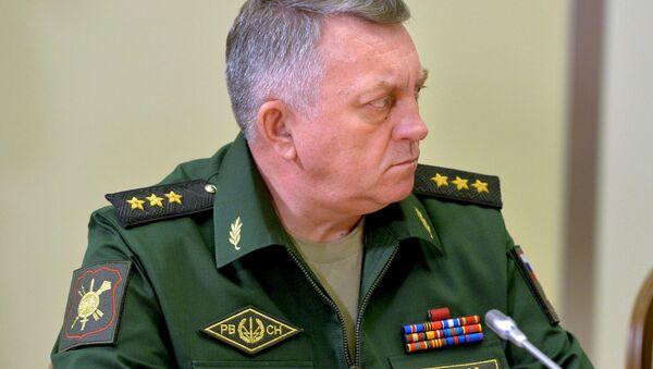 Dowódca Wojsk Rakietowych Strategicznego Przeznaczenia Rosji generał-pułkownik Siergiej Karakajew - Sputnik Polska