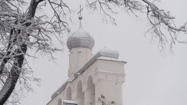 Dzwonnica w parku kremlowskim - Sputnik Polska