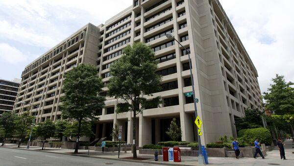Siedziba MFW w Waszyngtonie - Sputnik Polska