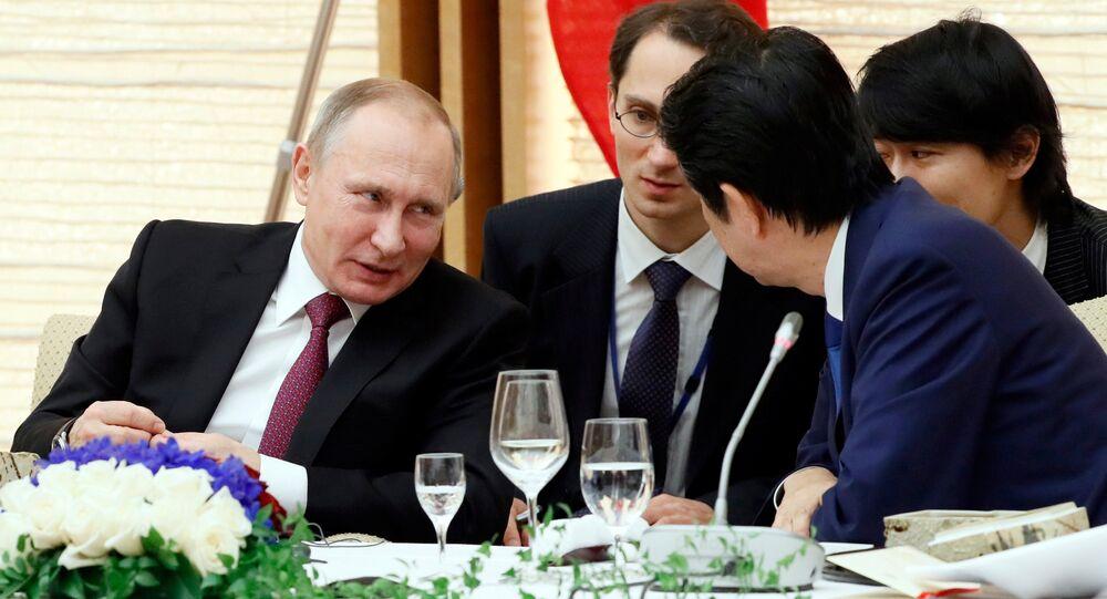 Wizyta Władimira Putina w Japonii