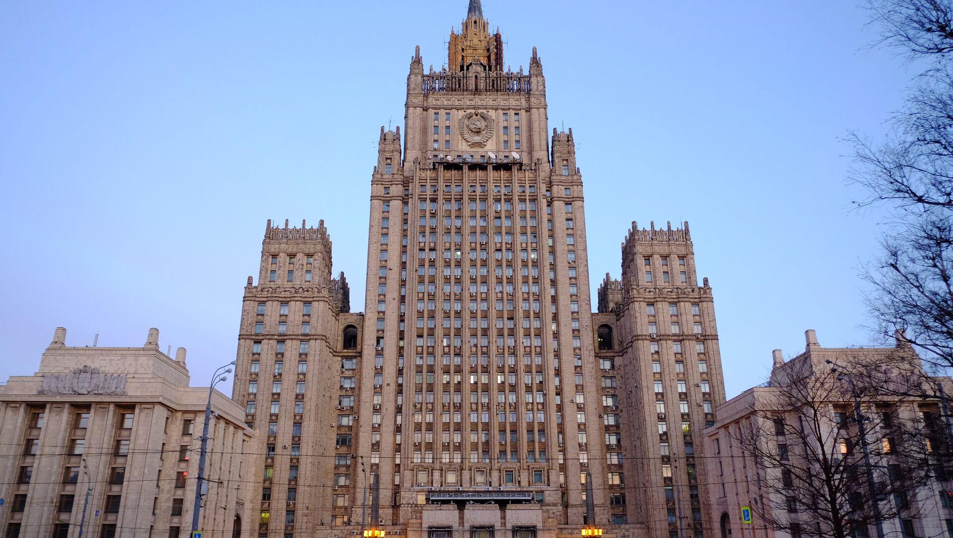 Budynek MSZ Rosji w Moskwie - Sputnik Polska, 1920, 22.04.2021