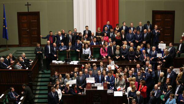 Sejm Rzeczpospolitej Polski - Sputnik Polska
