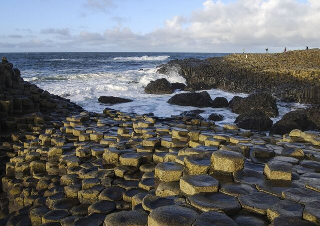 Droga gigantów w Północnej Irlandii