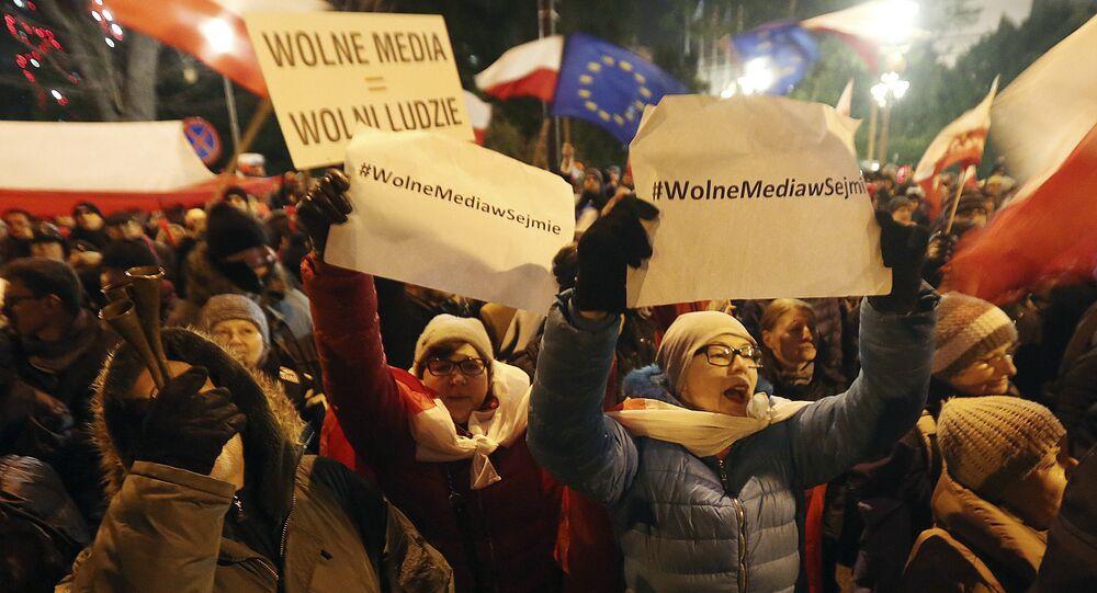 Protesty w związku z kryzysem sejmowym w Polsce