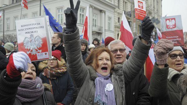 KOD żegna prezesa Rzeplińskiego - Sputnik Polska