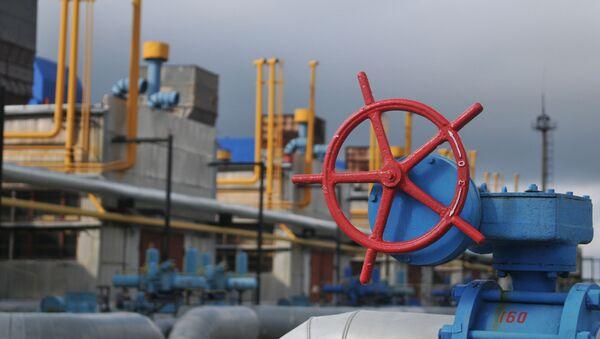 Tłocznia gazu Wołowiec w obwodzie zakarpackim na Ukrainie - Sputnik Polska