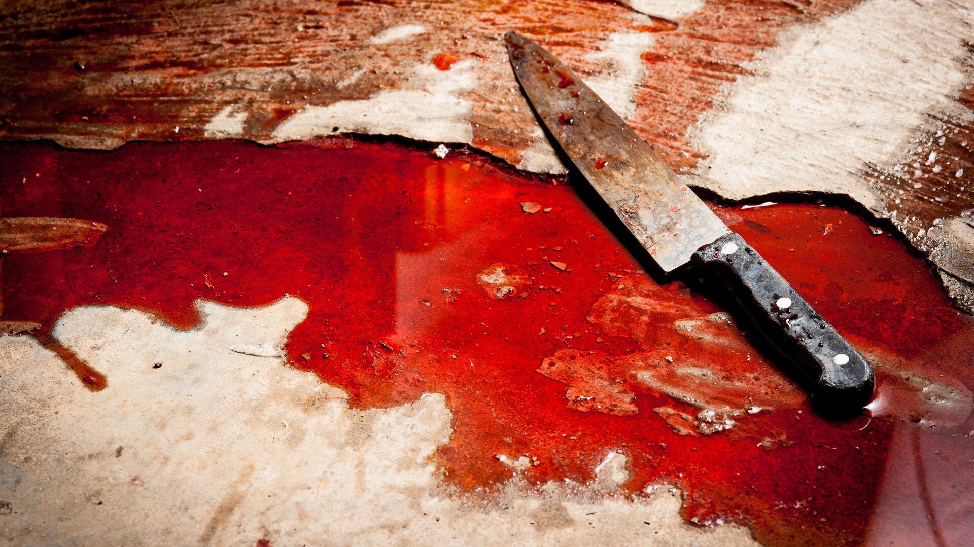 Nóż w krwi - Sputnik Polska, 1920, 17.05.2021