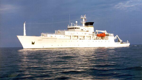 Okręt Bowditch floty USA - Sputnik Polska