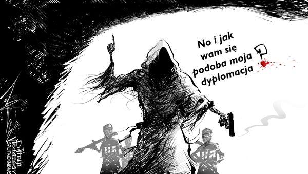 Krwawa dyplomacja - Sputnik Polska