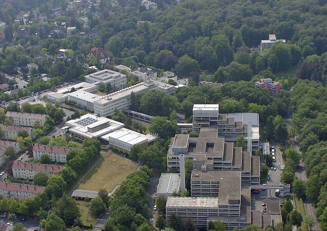 Siedziba Federalnego Biura Kryminalnego w Wiesbaden
