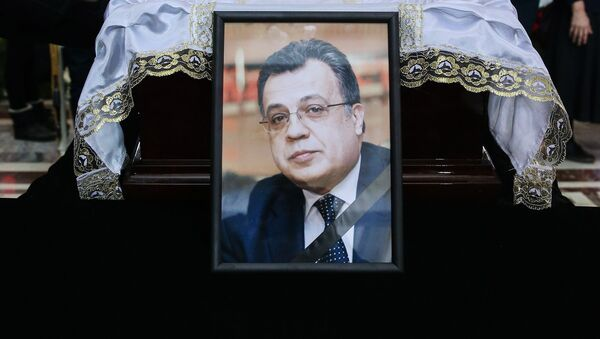 Pogrzeb ambasadora Andrieja Karłowa - Sputnik Polska