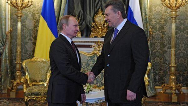 Putin i Janukowycz - Sputnik Polska