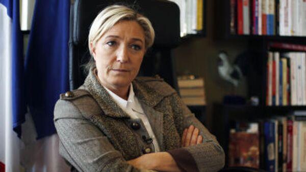 Liderka francuskiego Frontu Narodowego Marine Le Pen - Sputnik Polska