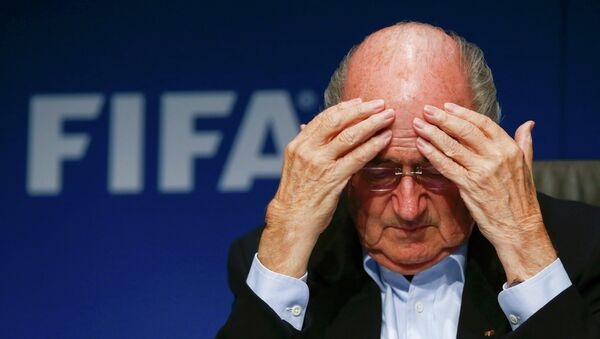Szef FIFA Sepp Blatter - Sputnik Polska