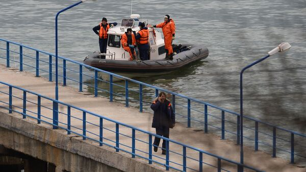 Katastrofa samolotu Tu-154 pod Soczi - Sputnik Polska