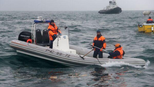 Prace poszukiwawcze po katastrofie TU-154 - Sputnik Polska