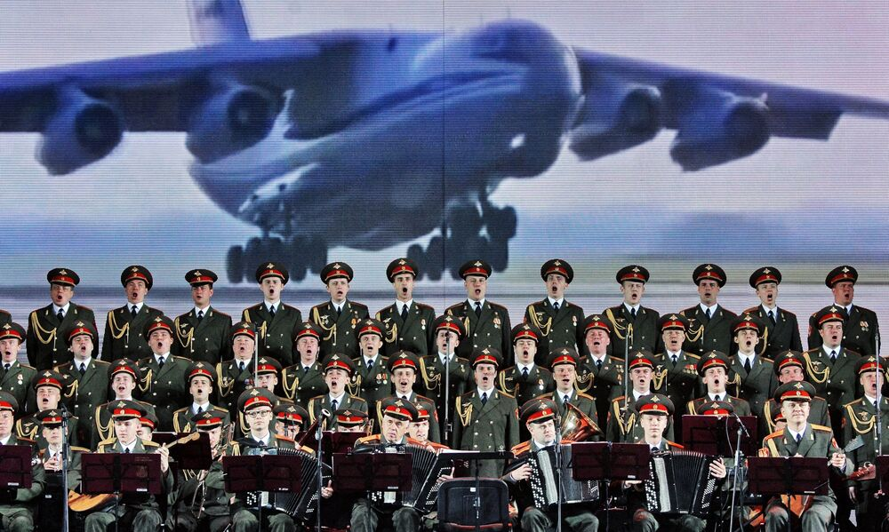 Chór Aleksandrowa to największy zespół artystyczny armii rosyjskiej.