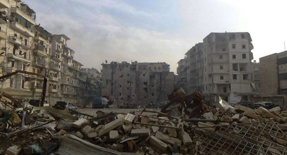 Ostatnia wyzwolona dzielnica Wschodniego Aleppo - As-Sukkari