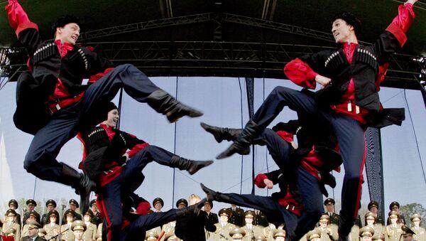 Chór Aleksandrowa podczas występu na Słowacji - Sputnik Polska