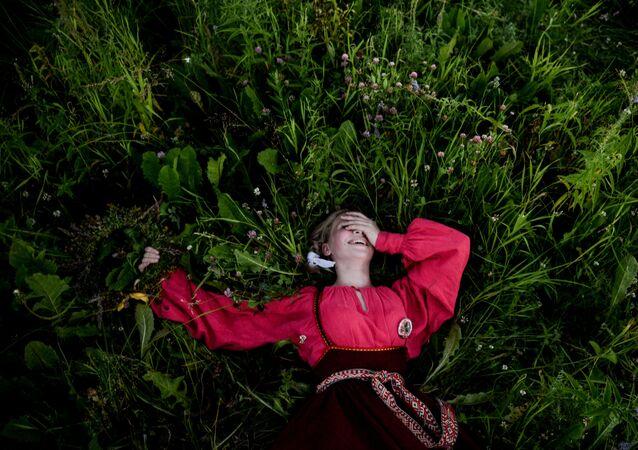 Obchody Nocy Kupały w Nowogrodzie Wielkim.