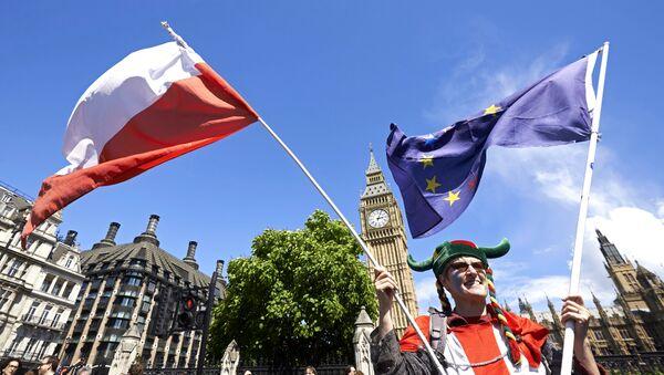 Londyn, protest przeciwko Brexit - Sputnik Polska