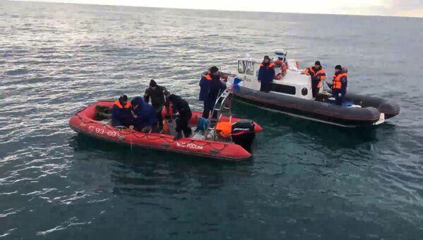 Akcja poszukiwawcza w w rejonie katastrofy Tu-154 na Morzu Czarnym - Sputnik Polska