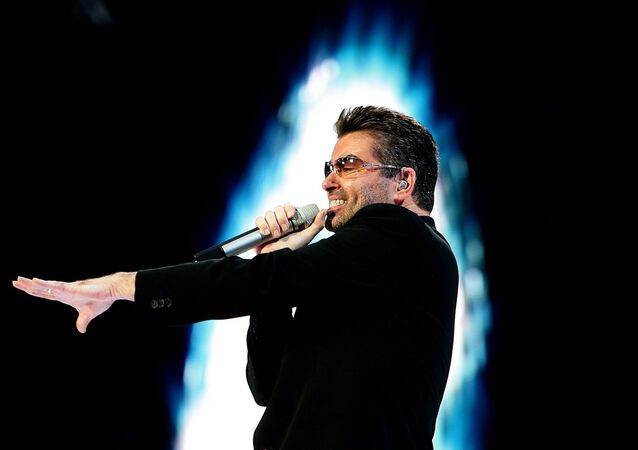 Wokalista George Michael (File)