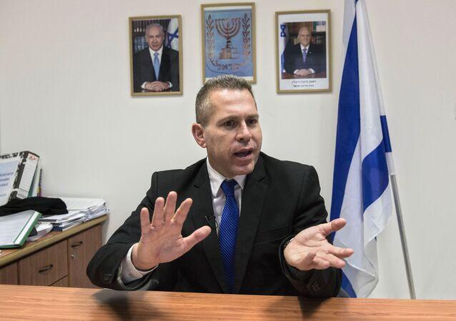 Minister bezpieczeństwa wewnętrznego i planowania strategicznego Izraela Gilead Erdan