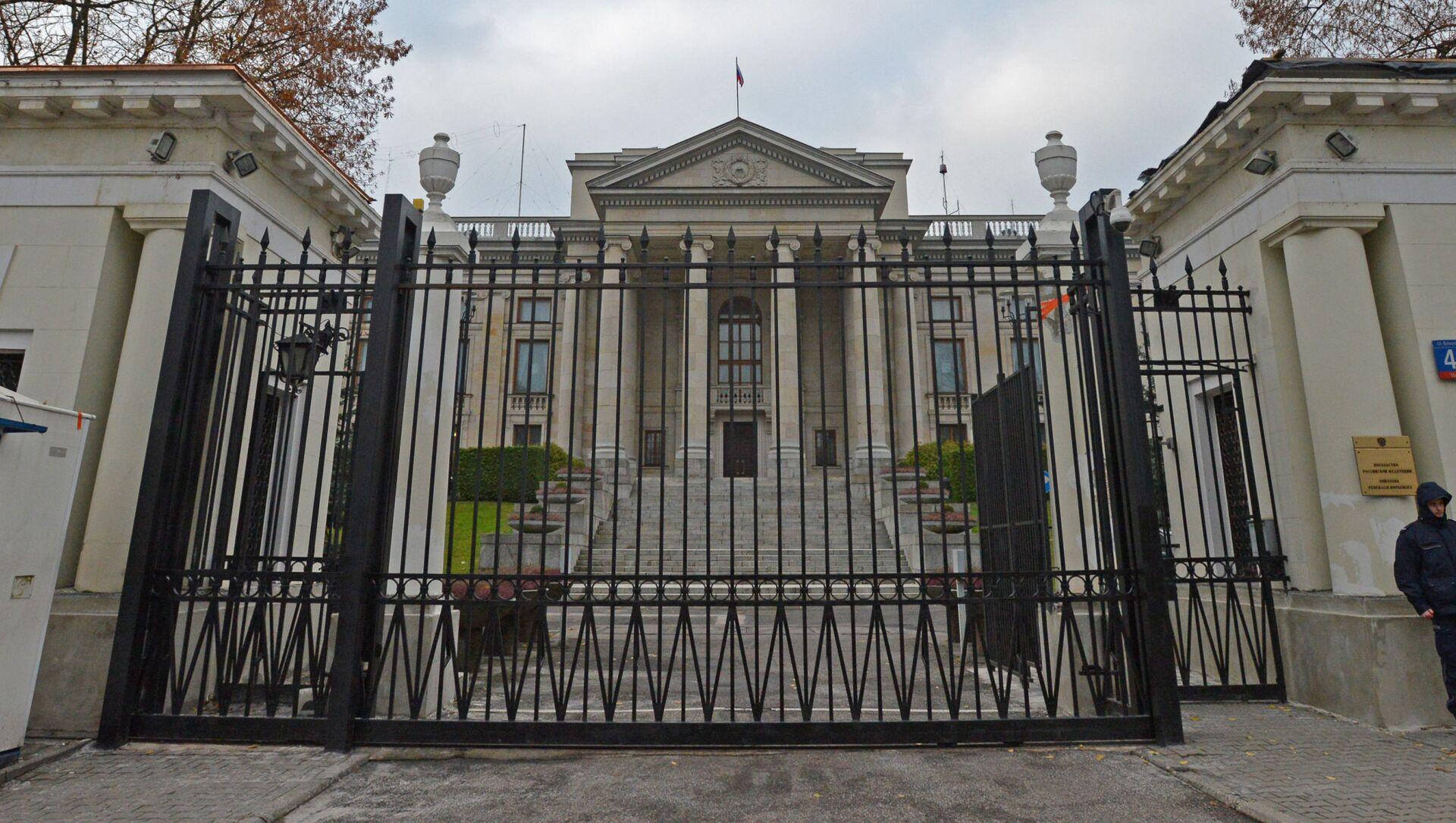Ambasada Rosji w Warszawie - Sputnik Polska, 1920, 16.04.2021