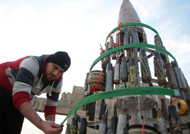 Syryjskie miasto Douma