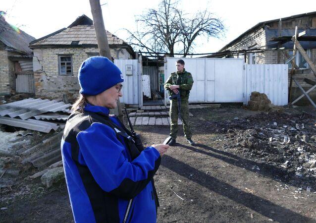 OBWE w Zajcewie, Donieck