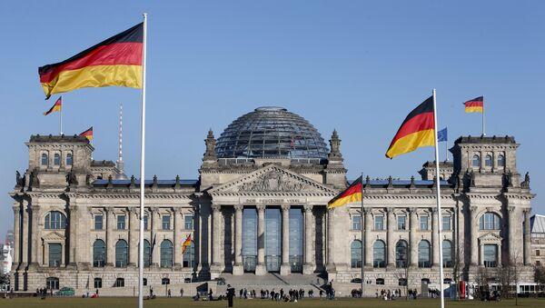 Budynek Reichstagu, Berlin - Sputnik Polska