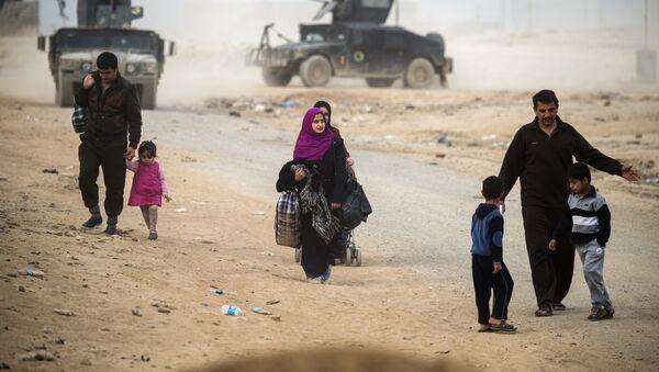 Siły irackie odbiły z rąk terrorystów z Państwa Islamskiego ponad połowę wschodniej części Mosulu - Sputnik Polska