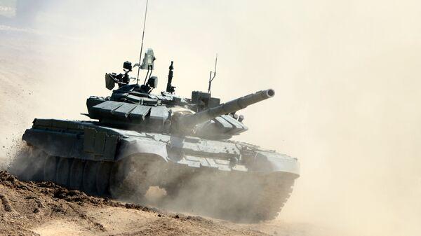 Rosyjski czołg T-72B3 - Sputnik Polska